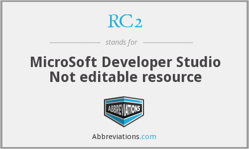 What does RC2 stand for?