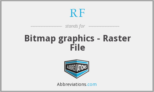 RF - Bitmap graphics - Raster File