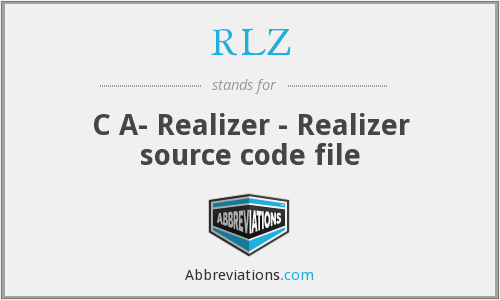 RLZ - C A- Realizer - Realizer source code file
