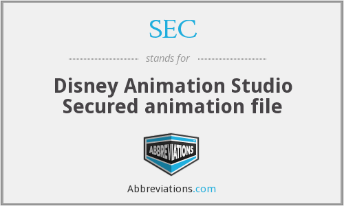 SEC - Disney Animation Studio Secured animation file