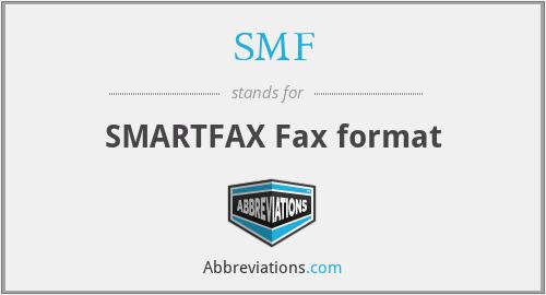 SMF - SMARTFAX Fax format