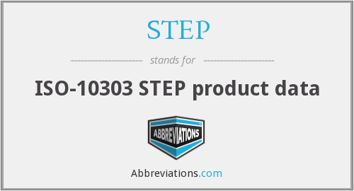 STEP - ISO-10303 STEP product data