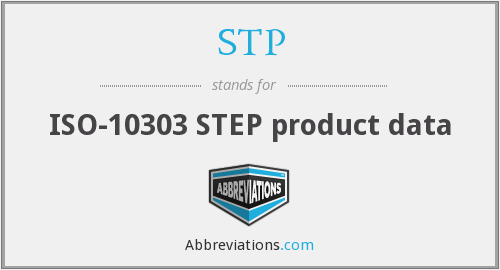 STP - ISO-10303 STEP product data
