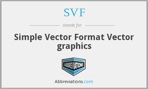 SVF - Simple Vector Format Vector graphics
