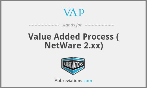 VAP - Value Added Process ( NetWare 2.xx)