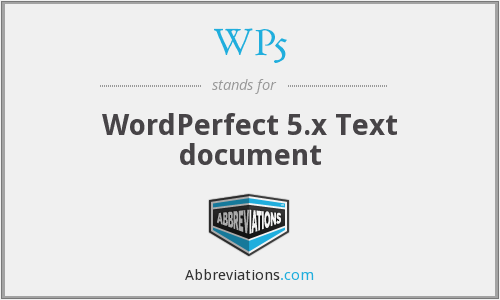 What does WP5 stand for?