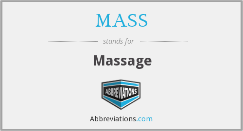 MASS - Massage