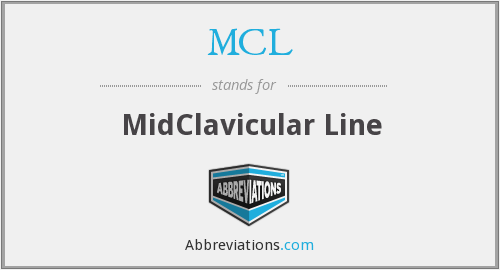 MCL - MidClavicular Line