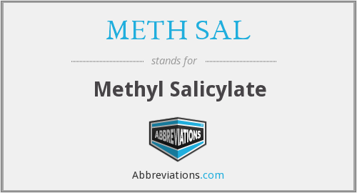 What does METH SAL stand for?