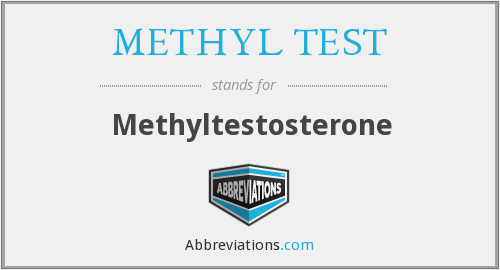 What does METHYL TEST stand for?
