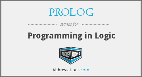 What does PROLOG stand for?