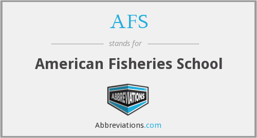 AFS - American Fisheries School