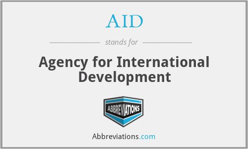 AID - Agency for International Development