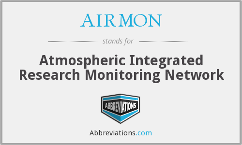 AIRMON - Atmospheric Integrated Research Monitoring Network