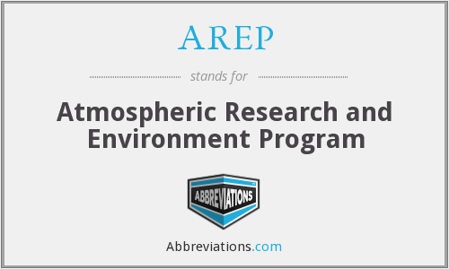 AREP - Atmospheric Research and Environment Program