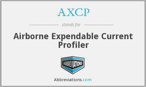 AXCP - Airborne Expendable Current Profiler