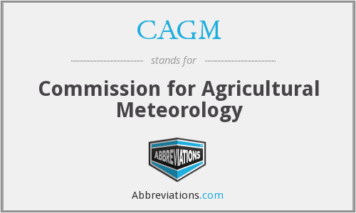 What does CAGM stand for?
