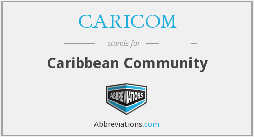What does CARICOM stand for?