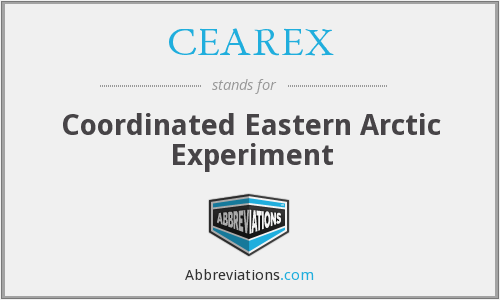 What does CEAREX stand for?