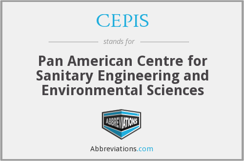 CEPIS - Pan American Centre for Sanitary Engineering and Environmental Sciences
