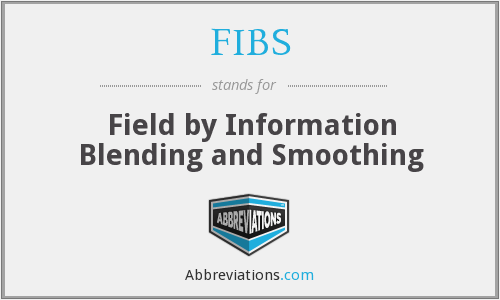 FIBS - Field by Information Blending and Smoothing