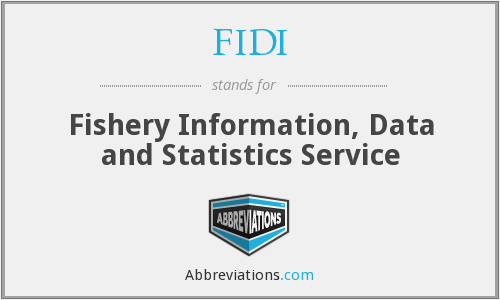 FIDI - Fishery Information, Data and Statistics Service