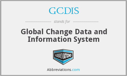 GCDIS - Global Change Data and Information System