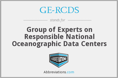 What does GE-RCDS stand for?