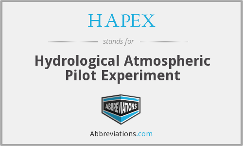 What does HAPEX stand for?