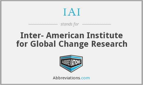 IAI - Inter- American Institute for Global Change Research