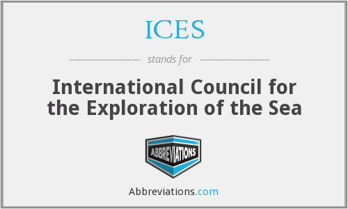 ICES - International Council for the Exploration of the Sea