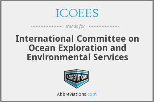 What does ICOEES stand for?