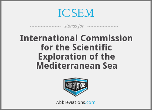 What does ICSEM stand for?