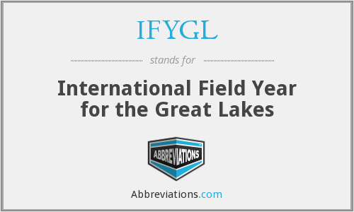 IFYGL - International Field Year for the Great Lakes