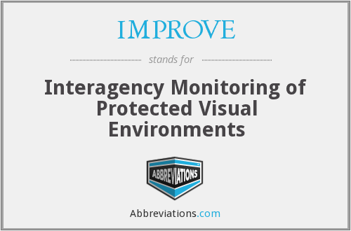 IMPROVE - Interagency Monitoring of Protected Visual Environments