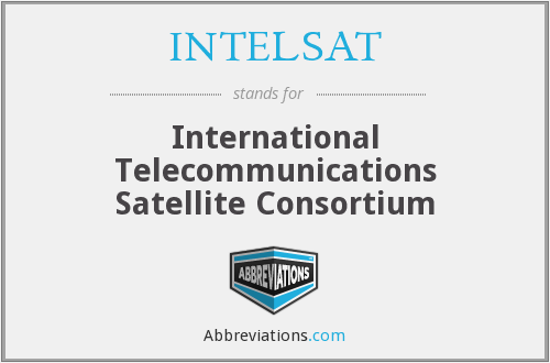 What does INTELSAT stand for?