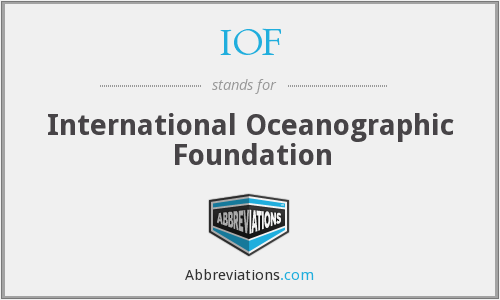 What does IOF stand for?