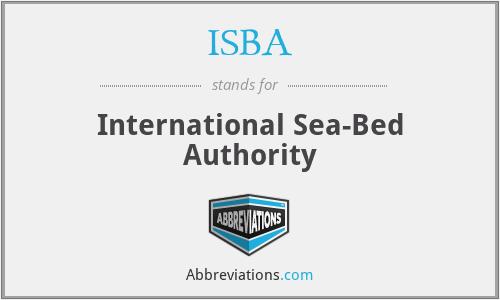 ISBA - International Sea-Bed Authority