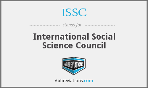 What does ISSC stand for?