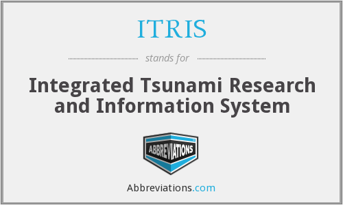 ITRIS - Integrated Tsunami Research and Information System