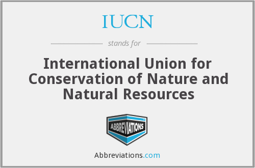 What does IUCN stand for?