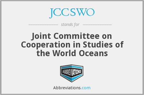 What does JCCSWO stand for?