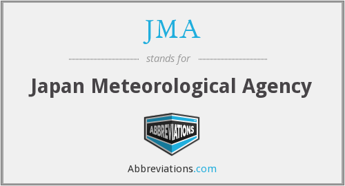 What does JMA stand for?