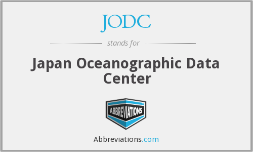 What does JODC stand for?