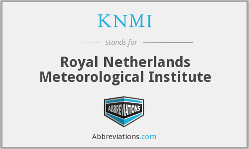 KNMI - Royal Netherlands Meteorological Institute