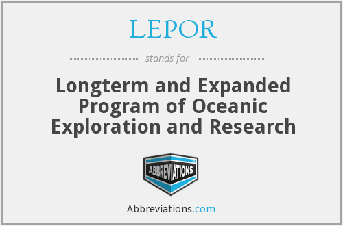 What does LEPOR stand for?