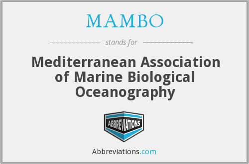 MAMBO - Mediterranean Association of Marine Biological Oceanography