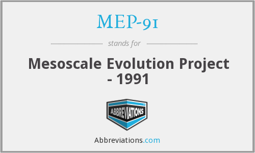 What does MEP-91 stand for?