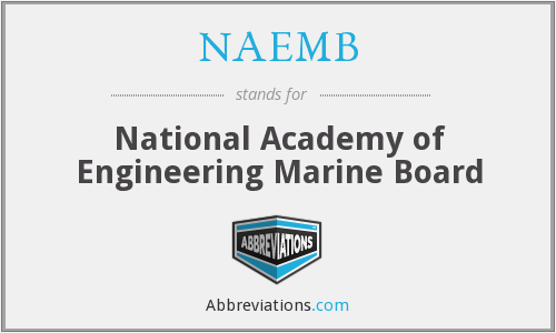 What does NAEMB stand for?