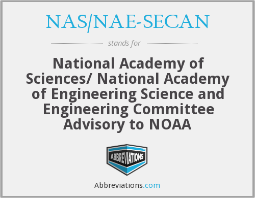 What does NAS/NAE-SECAN stand for?